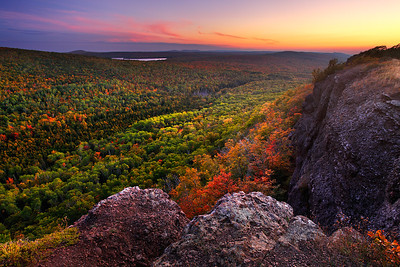 Transient Twilight - Brockway Mountain (Keweenaw Peninsula - Upper Michigan)