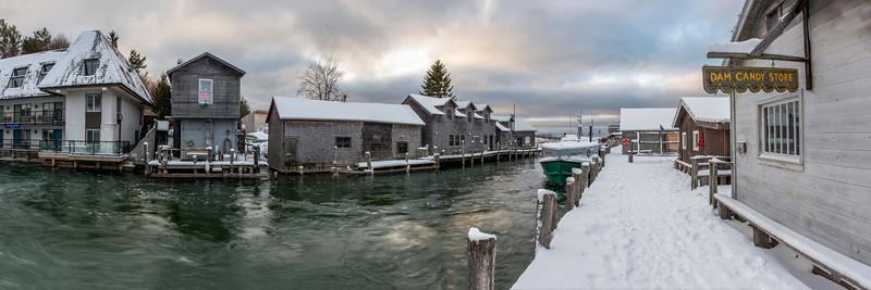 Fishtown Winter Panorama