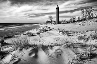 Missing Light - Little Sable Point Lighthouse (Silver Lake State Park - Little Point Sable, Michigan)