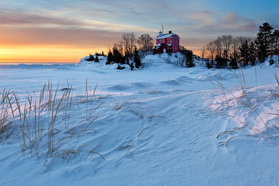 Drifted Light - Marquette Harbor Lighthouse (Marquette, MI)
