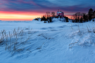 Drifted Light II - Marquette Harbor Lighthouse (Marquette, MI)