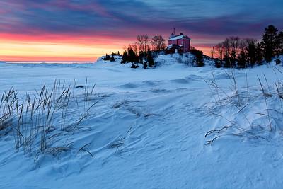 Drifted Light II - Marquette Harbor Lighthouse (Marquette, MI)
