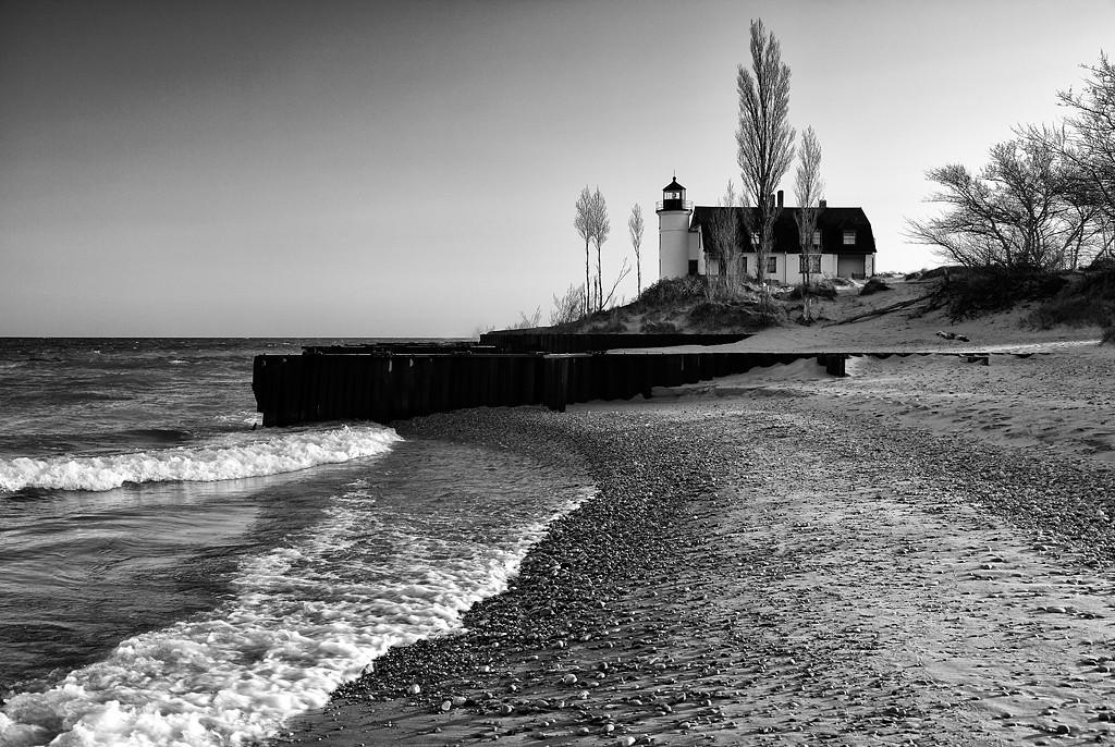 Silent Light - Point Betsie Lighthouse (Michigan)