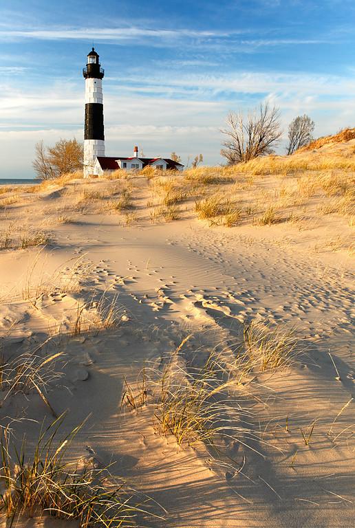 Wind Swept Light II - Big Sable Point Lighthouse (Ludington State Park - Ludington, MI)