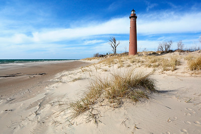 Arid Light- Little Sable Point Lighthouse (Silver Lake State Park - Little Point Sable, Michigan)