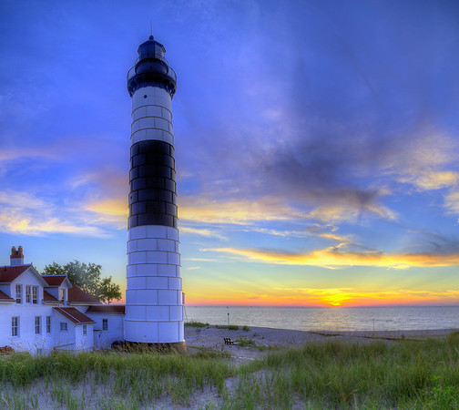 Big Sable Lighthouse Sunset