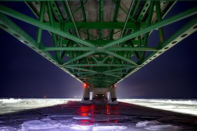 Icy underbelly.