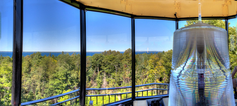 View from McGulpin Point Lighthouse