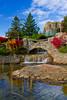 Adventure Golf animal Tracks entertainment in Mackinaw city, Michigan, USA.