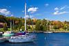 The marina and harbor in Marquette, Michigan, USA.