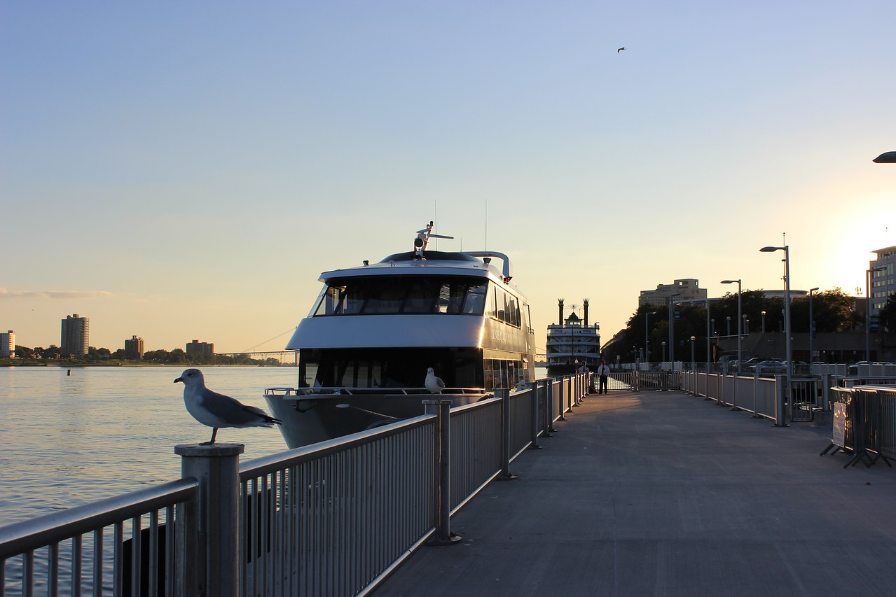 Infinity and Detroit Princess Riverboats
