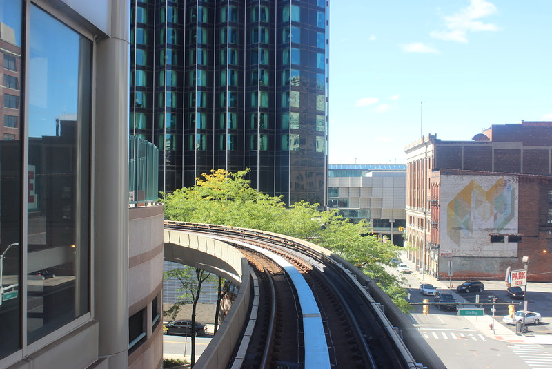 People Mover Circles the City