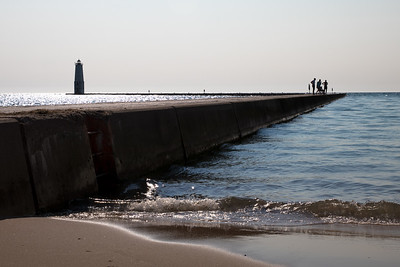 Frankfort North Breakwater Light