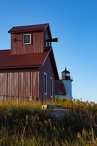 Point Betsie fog horn.