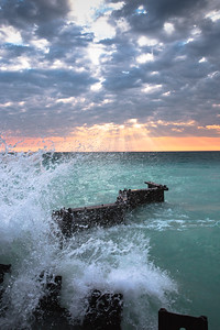 The magical waters of Point Betsie.