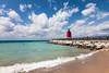 Lake Michigan beach in Charlevoix, MI<br /> <br /> MI-100728-0127