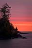 MI 077                       Sunrise over Rock Harbor at Isle Royale National Park in Michigan.