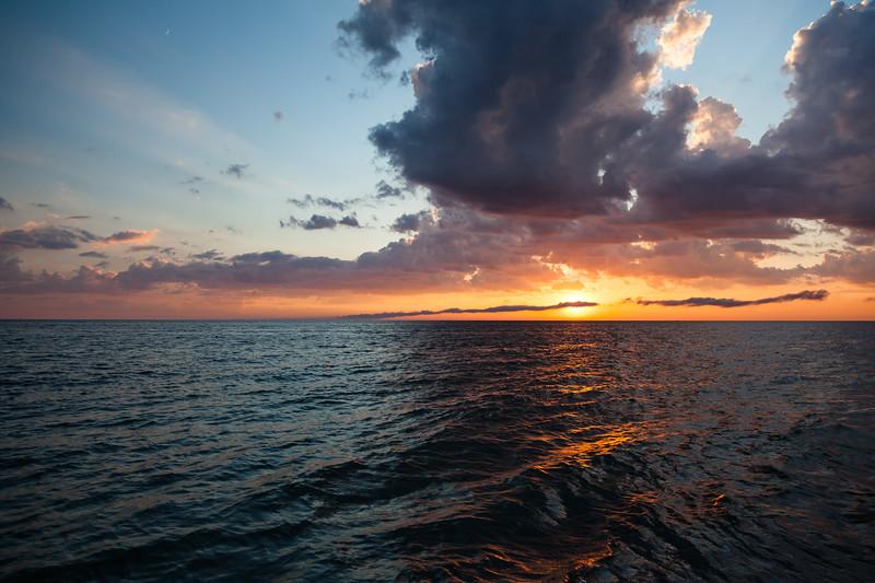 Lake Michigan sunset. Frankfort, MI<br /> <br /> MI-090625-0073