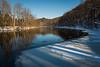 Flat River in Winter