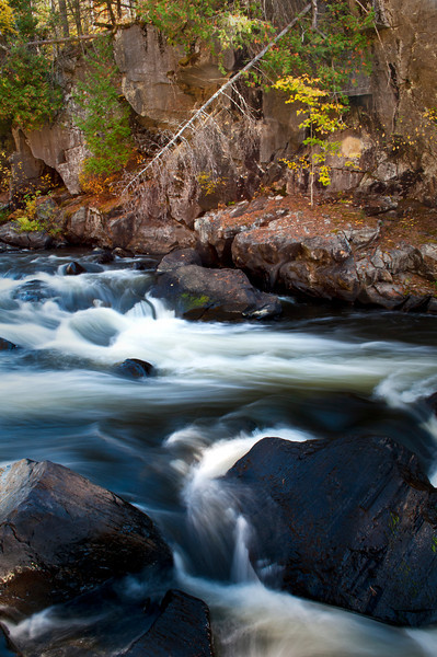 M 117<br /> <br /> Autumn at Horserace Rapids on Michigan's Paint River.