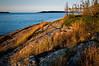 MI 072                       Sunrise over Rock Harbor at Isle Royale National Park in Michigan.