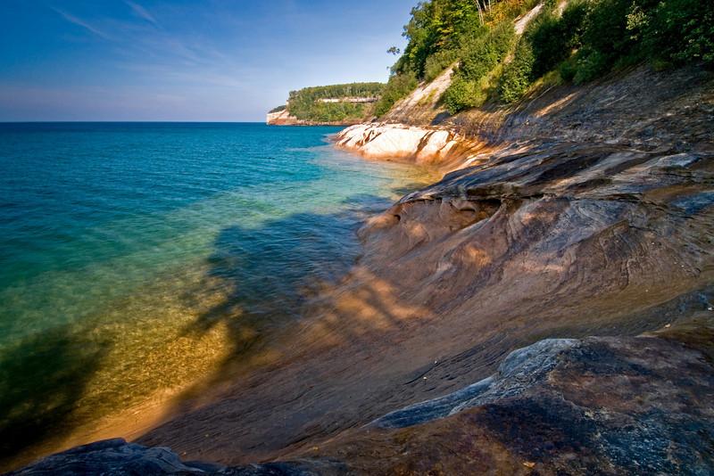 MI 007                         Pictured Rocks National Lakeshore on Lake MI Superior in Michigan's Upper  Peninsula.