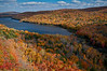 MI 114                         Fall colors surround Lake of the Clouds in the Porcupine Mountains Wilderness State Park located in Michigan's Upper Peninsula.