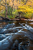M 199<br /> <br /> Autumn color at dusk on the Sturgeon River in Michigan's Upper Peninsula.