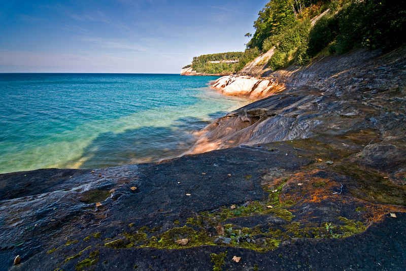 MI 009                         Pictured Rocks National Lakeshore on Lake Superior in Michigan's Upper  Peninsula.