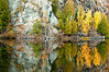 MI 168                          Rugged granite cliffs and autumn colors on the Michigamme River, Upper Peninsula, Michigan.