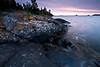 MI 082                       Sunrise over Rock Harbor at Isle Royale National Park in Michigan.