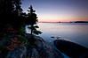 MI 069                      Sunrise over Rock Harbor at Isle Royale National Park in Michigan.