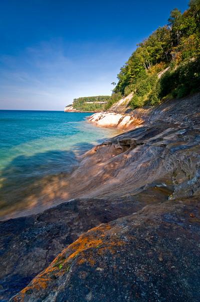 MI 008                          Pictured Rocks National Lakeshore on Lake Superior in Michigan's Upper  Peninsula.