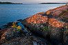 MI 070                      Sunrise over Rock Harbor at Isle Royale National Park in Michigan.