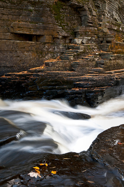 MI 191<br /> <br /> The Sturgeon River flows between steep canyon walls just downstream from Canyon Falls in Michigan's Upper Peninsula.