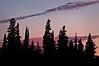 MI 067                        Twilight at Tobin Harbor in Isle Royale National Park, Michigan.