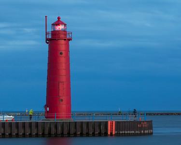 Muskegon South Pierhead Light