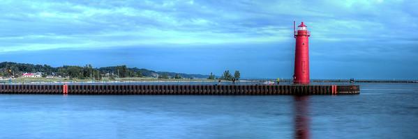 Muskegon South Pierhead Panorama