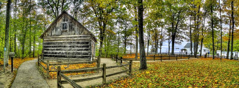 Old Mission Log Cabin