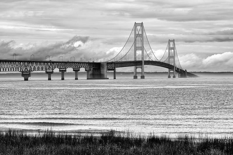 Passing Through - Mackinac Bridge (Michigan)