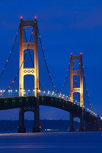 Straight Up - Mackinac Bridge (Michigan)
