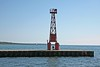 Pentwater Pier Lighthouse