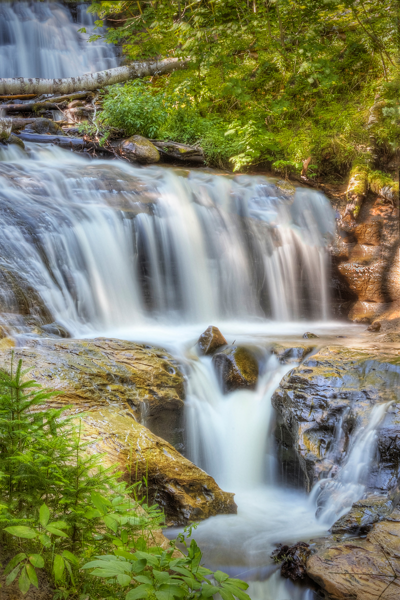 Sable Falls in Summer