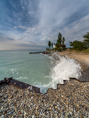 Point Betsie Shoreline Vertical