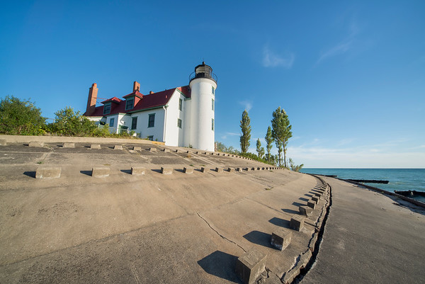 Summer Day at Point Betsie Lighthouse