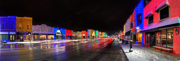Christmas Lights in Rochester, Michigan