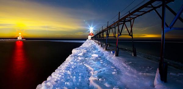 The Lights of Night, St. Joseph (panorama)