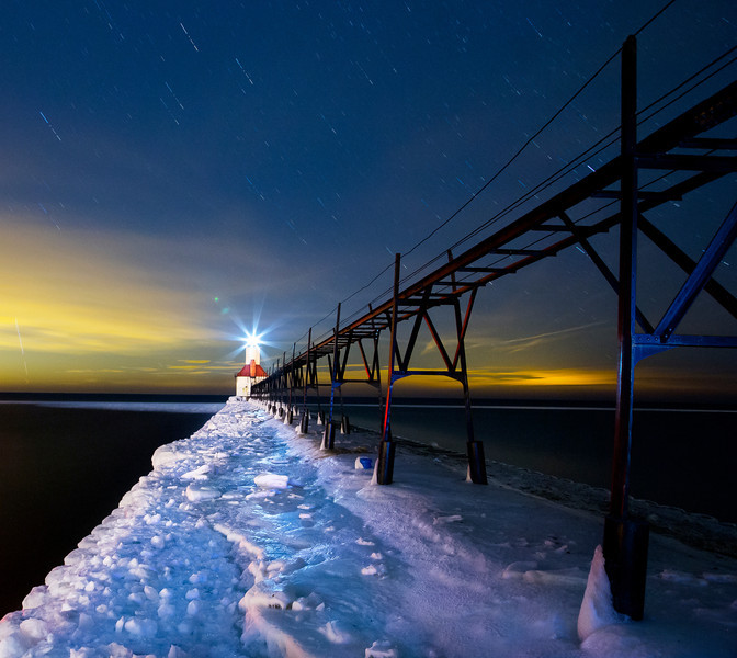 Lights of the Sky, Cities, and Pier