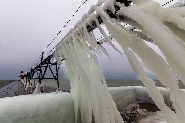 Saint Joseph Pier in Winter