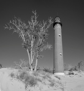 Little Sable Lighthouse (BW)